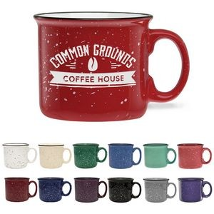 14 Oz. Camper Collection Ceramic Mug - Etched